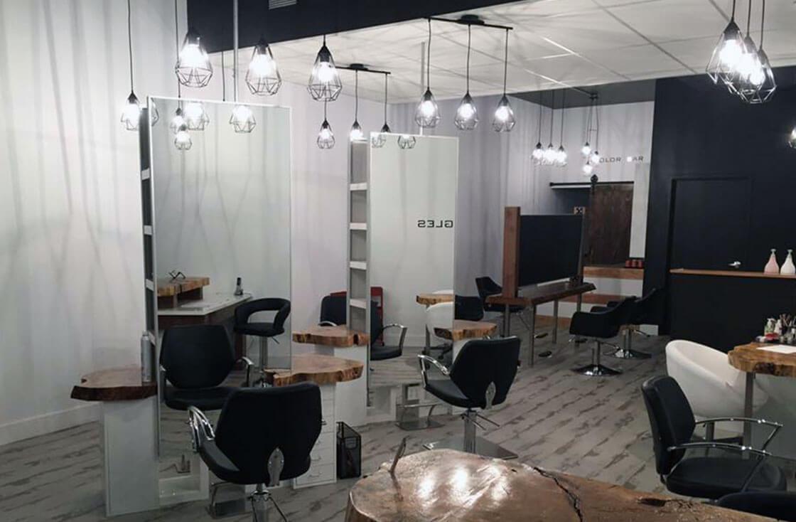 Design D éclairage Pour Salon De Coiffure Maheu électrique